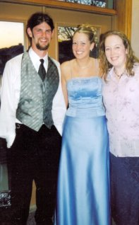 L to R: Jason, my sister Sara, & me. :)