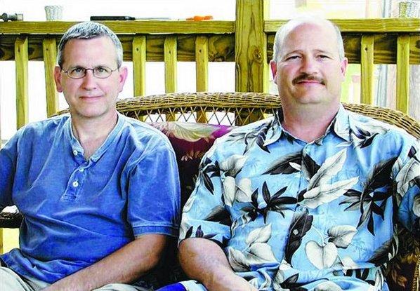 L-R: Pastor Chris Cutshall & Lt. Steve Freitas